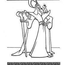 Jafar And Iago Coloring Page Coloring Page Disney Coloring