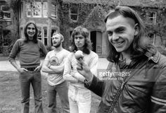 Mike Rutherford, Phil Collins, Tony Banks and Peter Gabriel