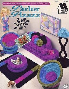 CROCHET BARBIE DOLL FURNITURE PATTERN | FREE CROCHET PATTERNS
