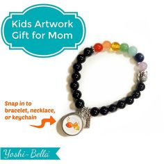 Be the Daughter everyone is talking about at Girl's Night (for a change). Put their grandchild's artwork or image on a handmade snap then choose some jewelry to match her taste. Lots of bracelet and necklace options. Link in Bio ... .. #ontrend #wearableart #casualstyle #goodvibes #uniquedesign #shopsmall  #lovejewelry #snapjewelry  #makeyourownstyle #mothersdaygift  #happythoughts #customjewelry  #smallbusiness #earnmoney #canadasmallbusiness #canada #workathomemom #smallbiz #beautiful…