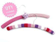 Crocheted Hangers tutorial, in German