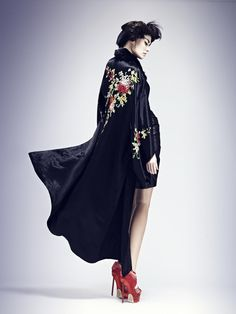 Harper's Bazaar romania- Ugo Richard by Julie Camus, via Behance   Fashion - Editorial - Photography - Portrait - Pose Idea - Inspiration
