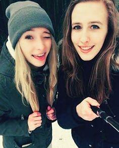 Nejvíc na světě tě mám ráda ❤ #bestfriendsforever  #love #13years#memories#cuteeee #winter ⛄ #snow#selfiestick #bestmomentswithyou   #crazy  #face