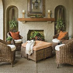 Polished Outdoor Room - Porch and Patio Design Inspiration - Southern Living