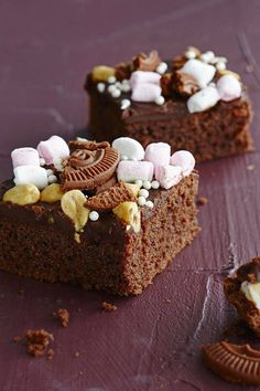 Rocky Road, Cheesecake, Sweet Pie, Sweet Sweet, Sweet Pastries, Cake Bars, Piece Of Cakes, Food Inspiration, Yummy Treats