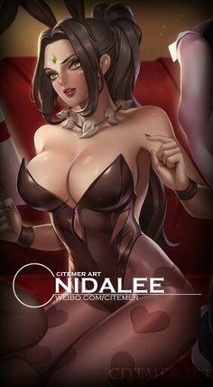 Bunny girls volume II by Citemer : Nidalee