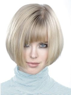 This site offers Bob wigs in a variety of styles and colors. These Bob wigs will create the most natural look and make you feel very comfortable. Bob Hairstyles With Bangs, Frontal Hairstyles, Wig Hairstyles, Straight Hairstyles, Bob Haircuts, Layered Hairstyles, Medium Hairstyles, Short Hair Cuts, Short Hair Styles