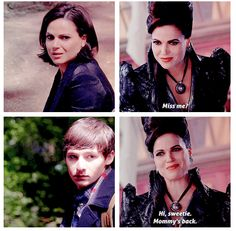"""Evil Queen, Henry and Regina - 6 * 2 """"A Bitter Draught"""""""