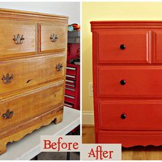 Vintage Dresser Makeover ...