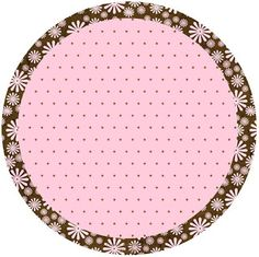 Brown and Pink Polka Dots Free Printable Candy Bar Labels. Printable Labels, Free Printables, Dots Free, Candy Bar Labels, Polka Dot Party, Blank Labels, Bottle Cap Images, Frame Clipart, Borders And Frames