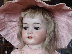 "23"" C.M. Bergmann Bisque Head Child Doll from BAYBERRY'S ANTIQUES on Doll Shops United http://www.dollshopsunited.com/stores/bayberrys/items/1289924/23-CM-Bergmann-Bisque-Head-Child-Doll #dollshopsunited"