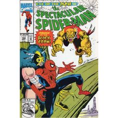 SPECTACULAR SPIDER-MAN #192 | Marvel Comics | PUMA | Black Crow | The Recycled Find