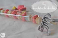 DIY.  Gummy brochette ideal para cumpleaños infantiles
