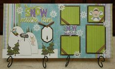 Snow Much Fun Cricut 2 Page Layout Directions Instructions - Need Expression, Winter Frolic cartridge and any cart with a snowflake