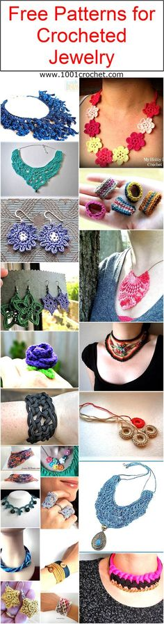 Like it is great when you are having each and every details of the project, you know about the thread, you know about the stitch pattern. Today I have got a very charming idea, that is about the crocheted jewelry. Like it? I knew it. This crocheted jewelry is just going to be something that you would fall in love with.
