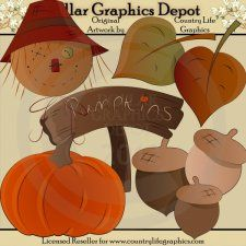 Autumn Colors - Clip Art