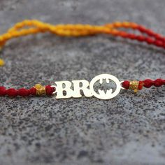 Send unique rakhi gifts for brother online in India from Bigsmall. quirky rakhi gift options available for brothers. On-time delivery, best prices. Diy Bracelets Easy, Handmade Bracelets, Handmade Jewellery, Online Gift Shop, Online Gifts, Cool Gifts, Best Gifts, Silver Rakhi, Handmade Rakhi Designs