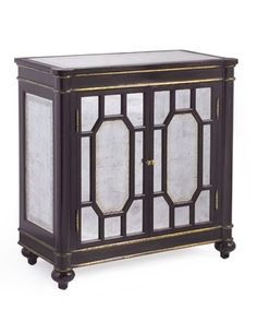 Safavieh Home Furnishings - Eglomise Barclay Cabinet, Call for pricing (http://www.safaviehhome.com/traditional-bedroom-cabinets-eglomise-barclay-cabinet/eur-04-0028)