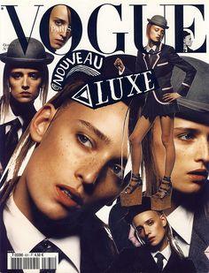 #Vogue Paris #magazine #cover #design