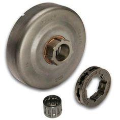 Crankshaft bearings seals for Husqvarna 365 371 372 372XP NEW NWP Gasket set