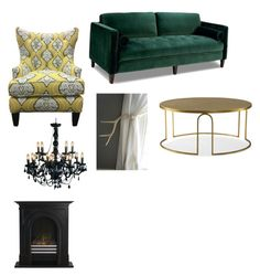 """Untitled #13"" by mora-sh on Polyvore featuring interior, interiors, interior design, home, home decor, interior decorating and Andrew Martin"