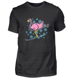 Süßer Ski Flamingo Skifahren T-Shirt Skiing, Mens Tops, Fashion, Ski, Moda, La Mode, Fasion, Fashion Models, Trendy Fashion