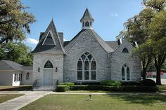 Homerville GA Clinch County Methodist Church Gothic Revival Architecture Landmark Pictures Photo Copyright Brian Brown Vanishing South Georg...