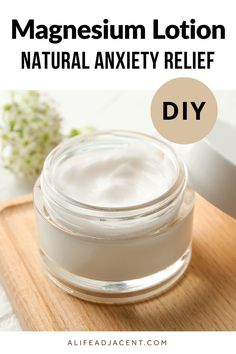 Natural Allergy Relief, Natural Anxiety Relief, Stress Relief, Natural Beauty Recipes, Health And Beauty Tips, Homemade Skin Care, Diy Skin Care, Beauty Makeover, Magnesium Oil