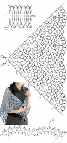 Kira scheme crochet: Scheme crochet no.Crochet Beanie Hat With LeaThis Pin was discovered by SueLecture d'un message - mail Or Totoro Crochet, Crochet Diy, Crochet Motif, Crochet Stitches, Lace Crochet Patterns, Crochet Shawls And Wraps, Crochet Scarves, Crochet Clothes, Lace Shawls