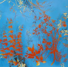 Eyestorm.com | Henrik Simonsen | Blue and Orange | Online Gallery for Contemporary Art