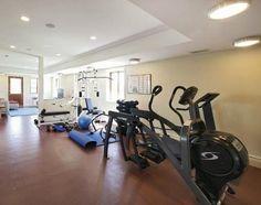 Huge exercising room
