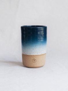 Speckled Tall Mug - Teal Blue
