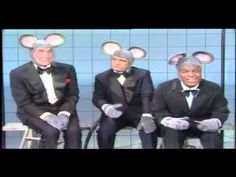 Dean, Nipsey Russell and Bob Newhart comedy skit mice experiments...lol :)