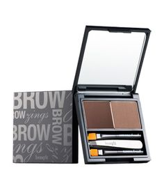 Benefit Cosmetic's Brow Zings—a compact dedicated to beautiful arches ... Colour looks good to me ...