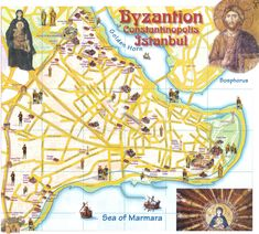 Byzantion Constantinapolis Istanbul