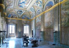 Villa Farnesina room with Galatea