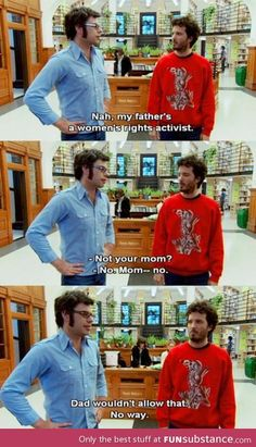 Flight of the conchords and women's rights