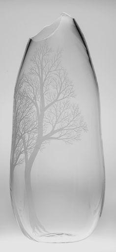 Kayo Yokoyama 'Valley View' - so gorgeous. Glass Rocks, Glass Art, Cristal Art, Steuben Glass, Glass Engraving, Art Corner, Valley View, Wow Art, Glass Paperweights