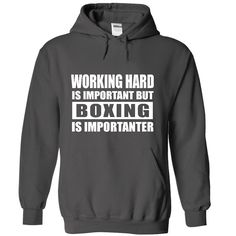 BOXING is importanter Check more at http://boxingteeshirt.com/2017/01/02/boxing-is-importanter-6/