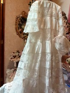 Antique christening gown!!