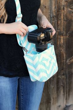 Order this cute camera bag at Jane.com! https://jane.com/deal/99150/small-chevron-camera-bag-perfect-for-summer-vacations