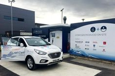UK's first zero-emission hydrogen filling station opens - http://www.telegraph.co.uk/cars/green-cars/first-zero-emission-hydrogen-filling-station-opens/