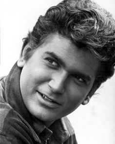Michael Landon   as Joseph 'Little Joe' Cartwright    /Cpl. Angus Borden from Bonanza ,  Photograph  B92686