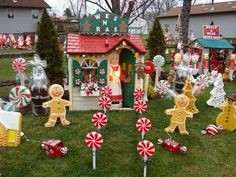 originally posted by mr gris hilda these are all amazing have you converted any large playhouses into witch huts etc thank you mr gris - Gingerbread Outdoor Christmas Decorations
