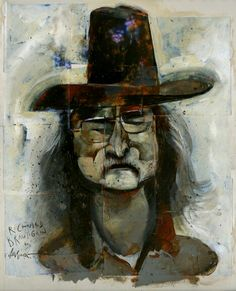Richard Brautigan by Dave McKean