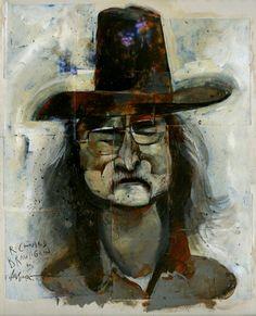 Richard Brautigan by Dave McKean