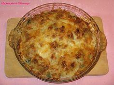 Gratin+de+brocoli+et+choux-fleur Mozarella, Desserts, Food, Cooked Chicken, Chicken Legs, Dish, Meal, Deserts, Essen