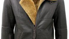 Mens B3 Bomber Real Shearling Sheepskin Jacket – Celebs Glam Omega Seamaster Automatic, Sheepskin Jacket, Leather Jacket, Celebs, Jackets, Men, Fashion, Studded Leather Jacket, Celebrities