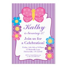 431 Best Butterfly Birthday Party Invitations Images In 2019