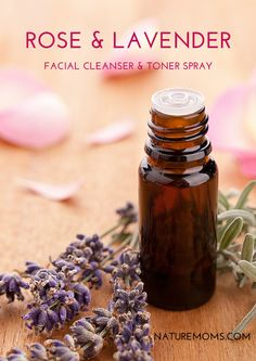Are you looking for a facial toner or facial spray that is soothing, hydrating, refreshing, and ever so gentle? Well, this may be the the recipe for you. It is all of the above and oh so good for your skin. The witch hazel and floral water cleanse the ski Loción Facial, Natural Facial Cleanser, Cleanser And Toner, Facial Toner, Natural Face, Facial Masks, Natural Toner, Skin Toner, Doterra Essential Oils